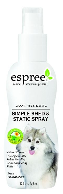 Espree Simple Shed & Static Spray 355ml