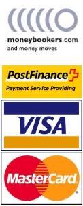 Unsere vielfältigen Zahlungsmöglichkeiten